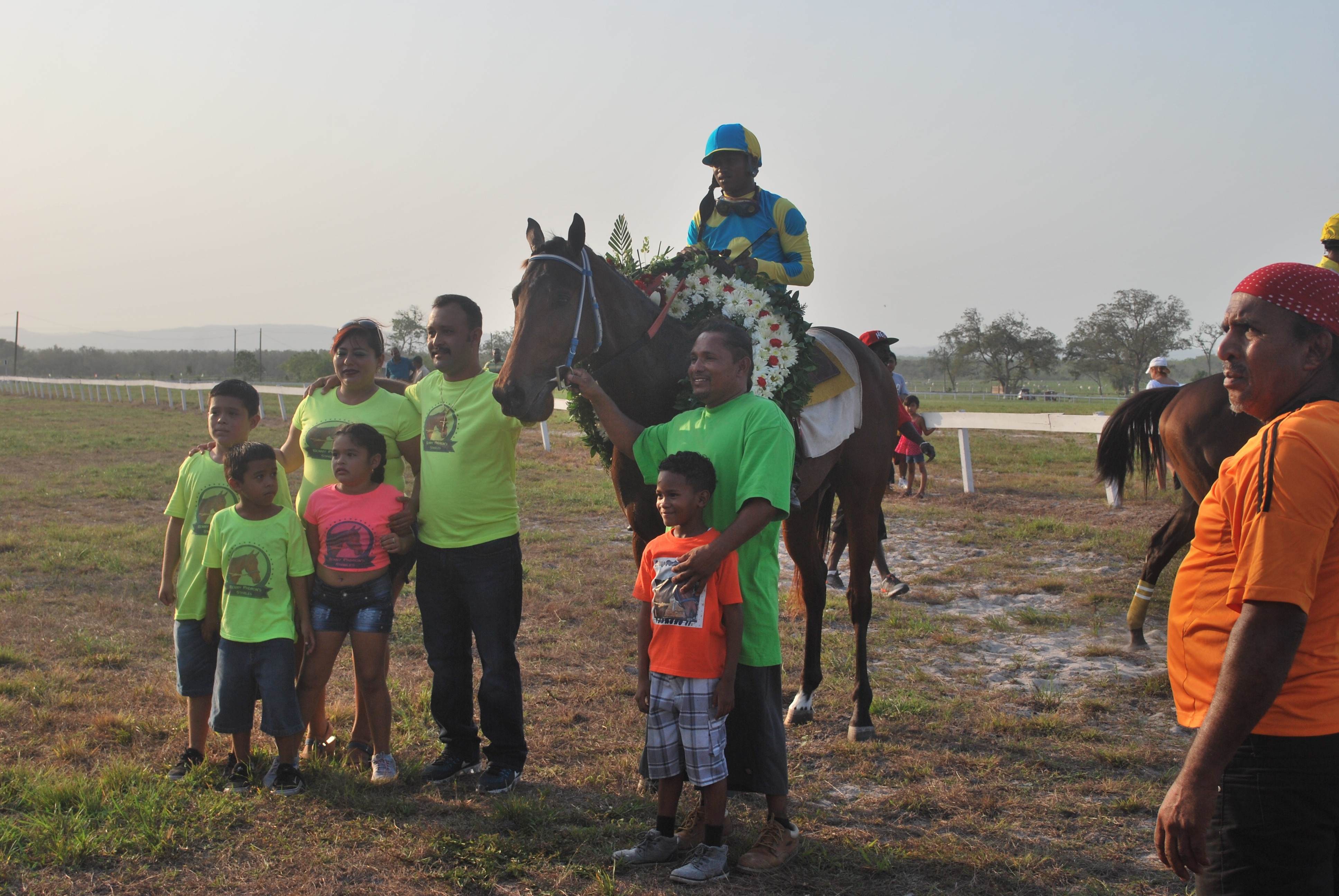 https://horseracingbelize.com/Padrino wins the second leg of the Belize Triple Crown Challenge