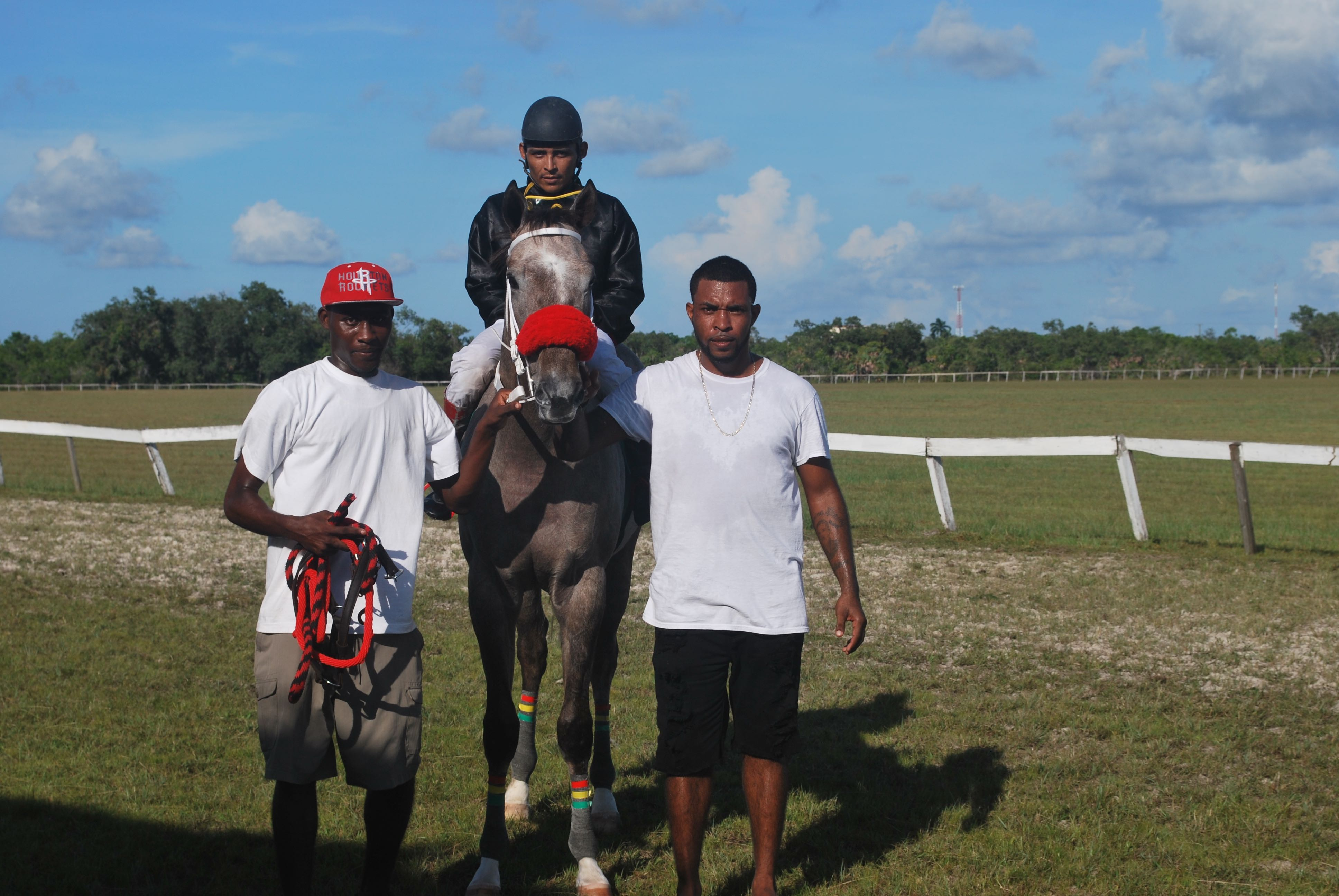 https://horseracingbelize.com/Redemption Song Wins The Derby!