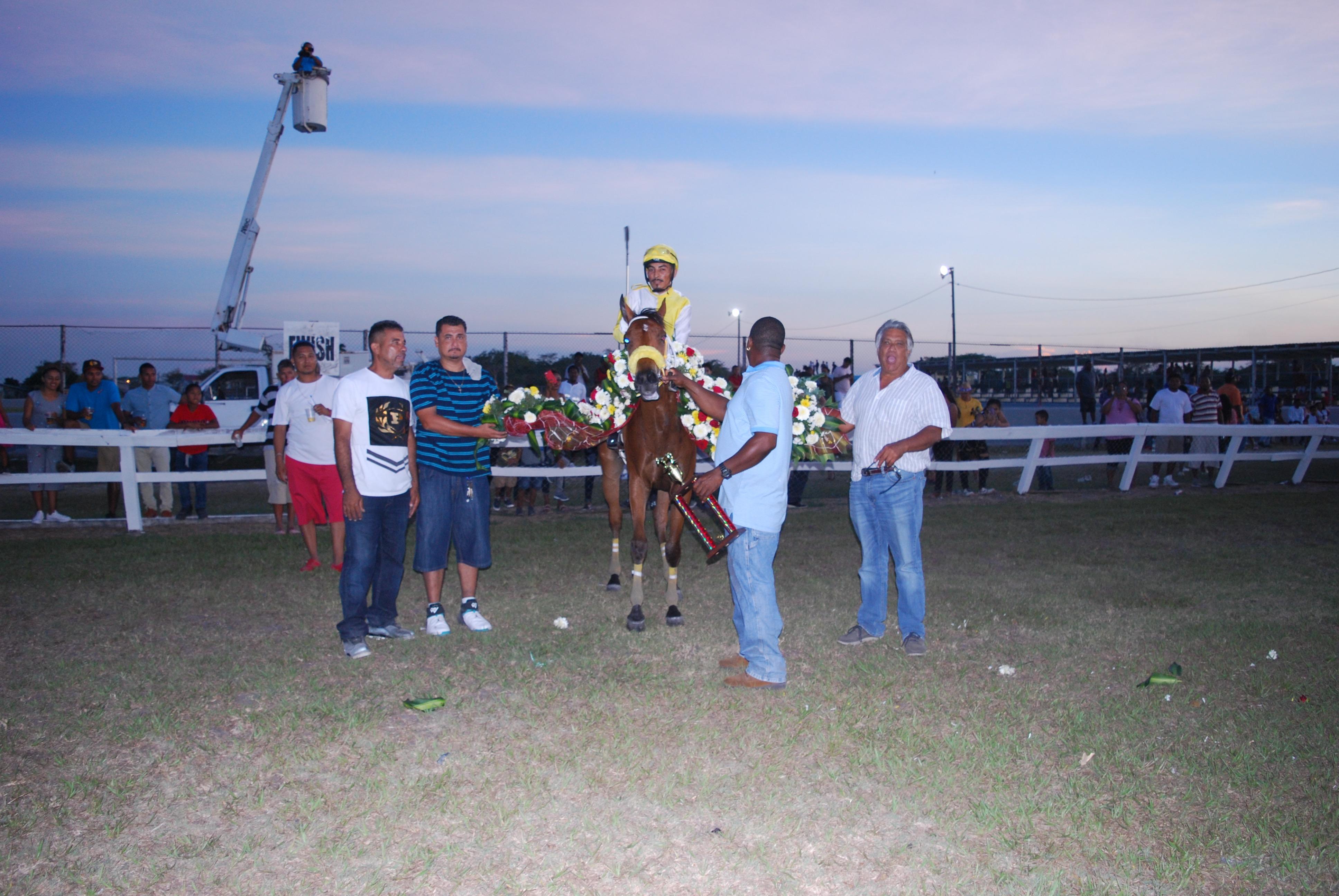 https://horseracingbelize.com/Trophy Presentation